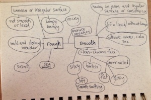 smooth & rough mind map